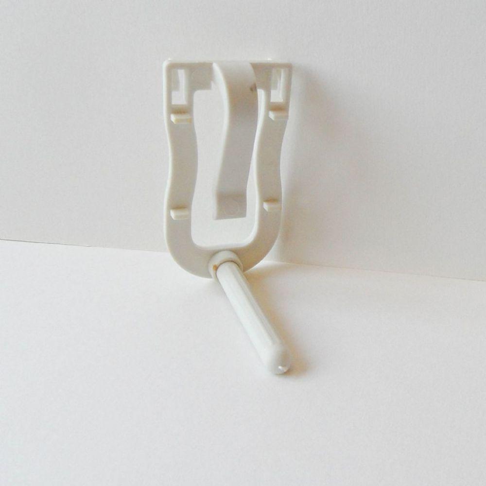 Sepiaklem plastic met zitstok