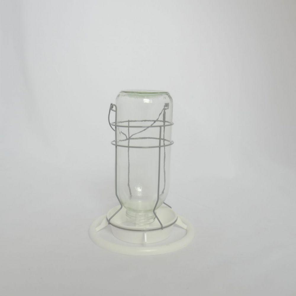 Flessenhouder glas