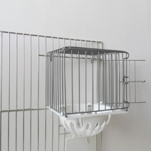 Voorhangnest draad + plastic nest
