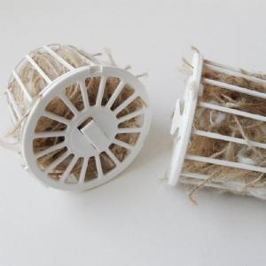 Nestkorfje gevuld (set 2 stuks)