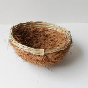 Kanarienest cocos/pitriet groot