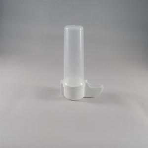 Fontein 100 cc hoge voet wit