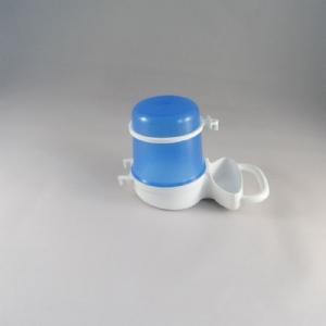 Fontein 260 cc laag breed blauw