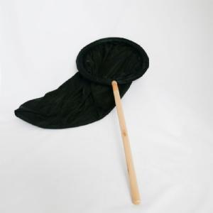 Vangnet zwart 30 cm.