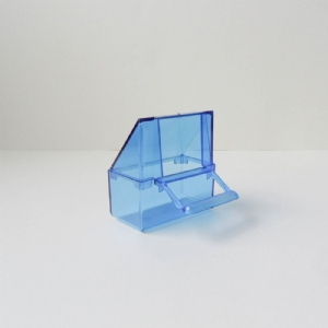 Klepbakje klein blauw